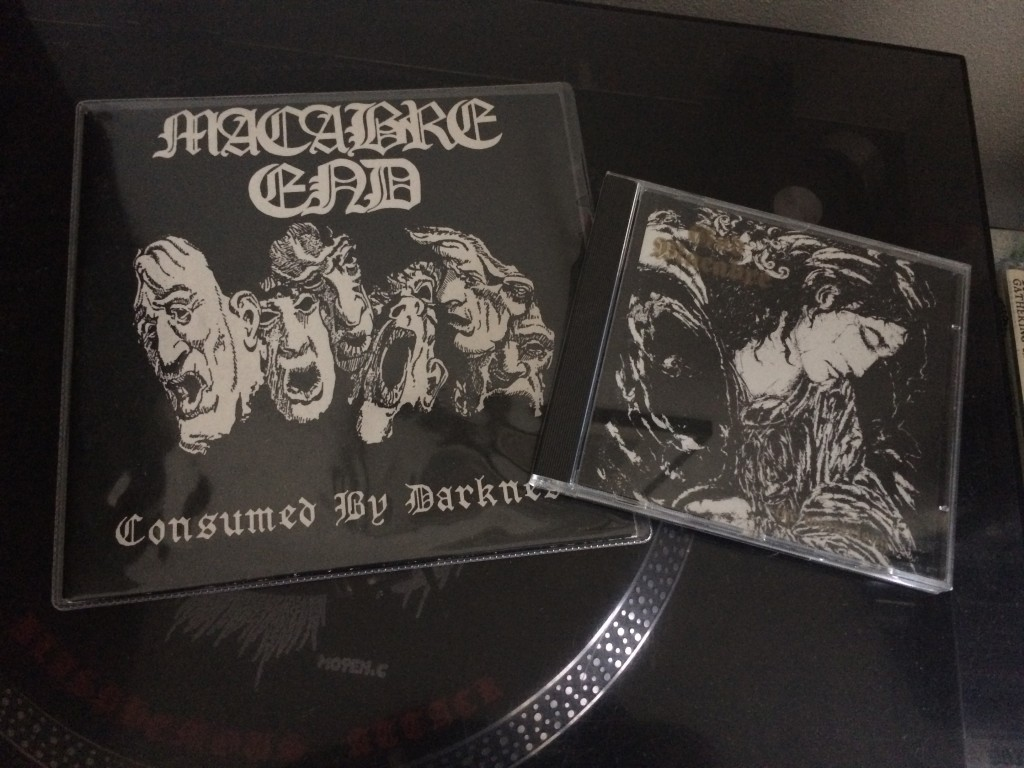 "The 7"" on Corpsegrinder and the MBR Cd"
